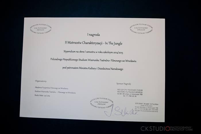II Ogolnopolskie Mistrzostwa Charakteryzacji